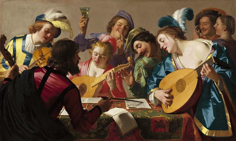 Gerard van Honthorst - The concert (1623)