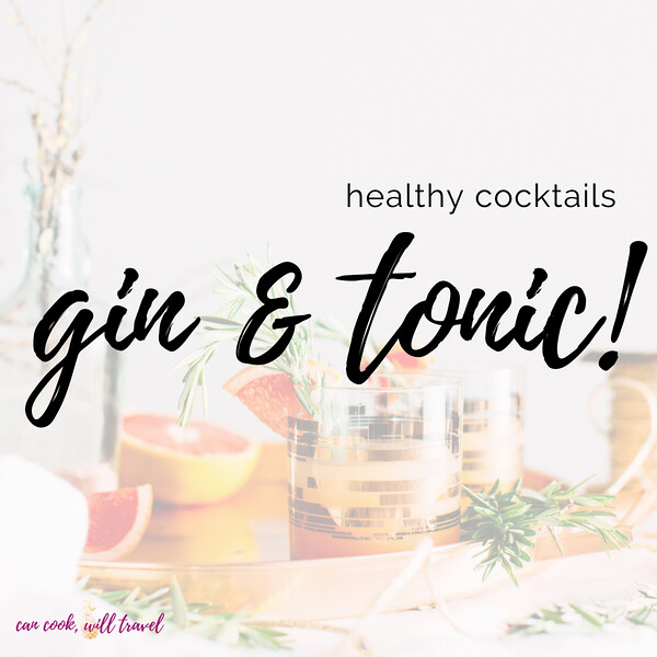 Healthy Cocktails