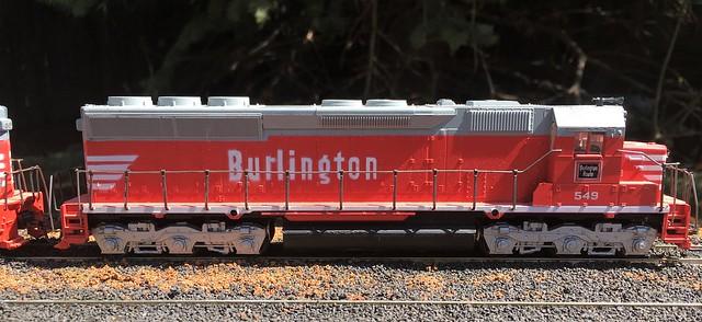 Burlington SD45
