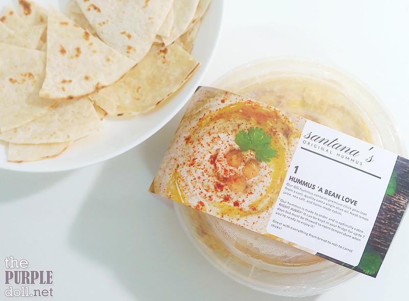 Santana's Original Hummus