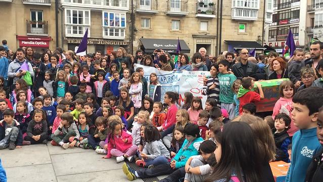Manifestación Escuela Pública