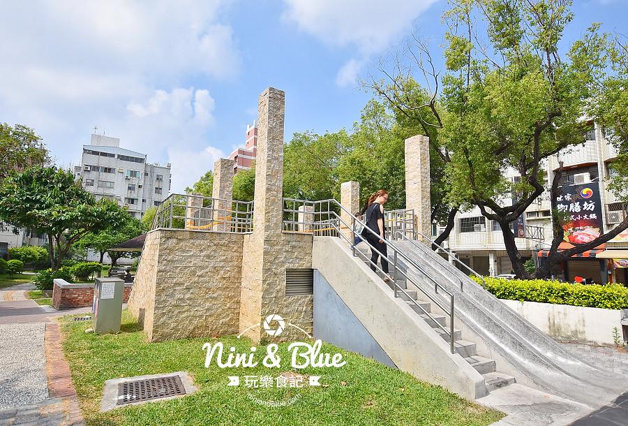 磨石子溜滑梯公園 台中山西公園05