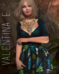 Valentina E. Alora Dress For 50 L Fridays!
