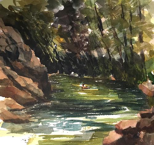 180603 Garden of Eden swimming hole, Felton, CA