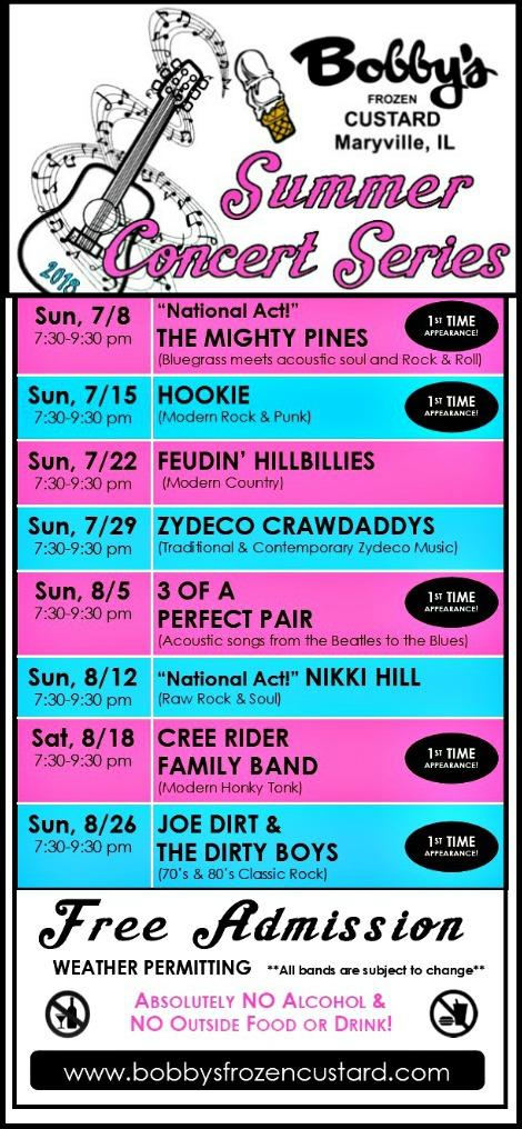 Bobbys_Summer_Concert_Series 7-8-18