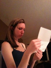 Caught the exact moment she realized that taxes were taken out of her first paycheck.