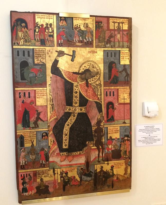 St Marina's Story, Icons Gallery