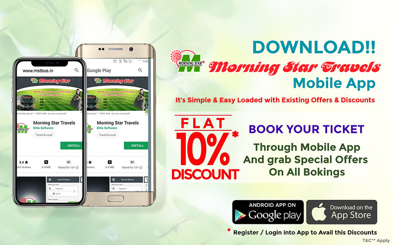 Morning Star Travels-Responsive PopUp  Banner