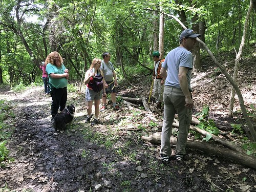 Trail Clean Up Project at Prospect Park