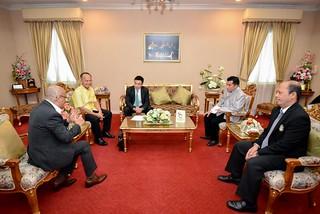 แถลงข่าว การจัดงานโครงการส่งเสริมการท่องเที่ยวเชิงวัฒนธรรมในพื้นที่กลุ่มจังหวัดภาคใต้ฝั่งอ่าวไทย กิจกรรมสนับสนุนมวยไชยาสู่นานาชาติ peebao.com คนใต้บ้านเรา (1)