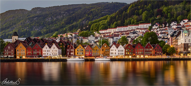 Bergen evening, Norway