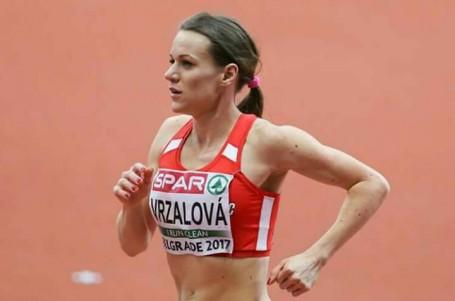 Vrzalová zaběhla druhý nejlepší český čas na 1500 m