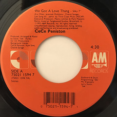 CECE PENISTON:WE GOT A LOVE THING(LABEL SIDE-A)
