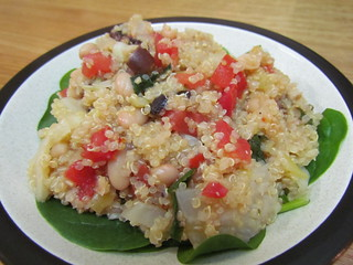 Quinoa with Fennel and Black Olives