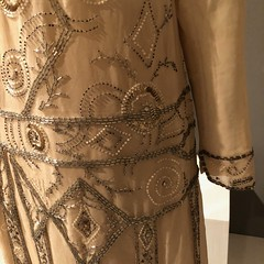 Detailing on 1920s Dress