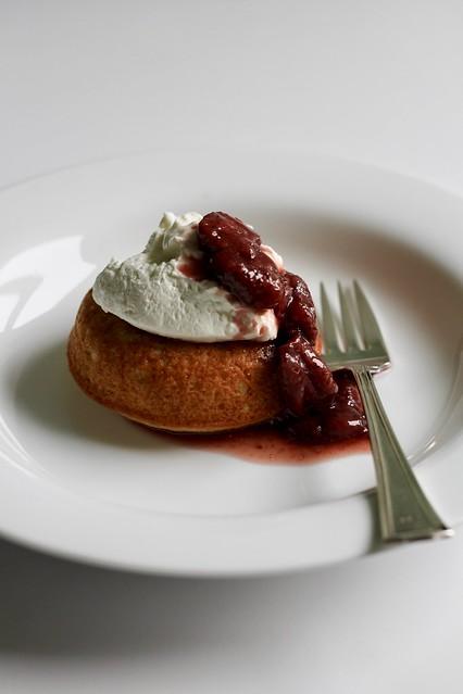 rose-scented cake