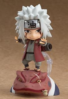 GOOD SMILE COMPANY Naruto Shippuden Nendoroid Jiraiya & Gamabunta Set