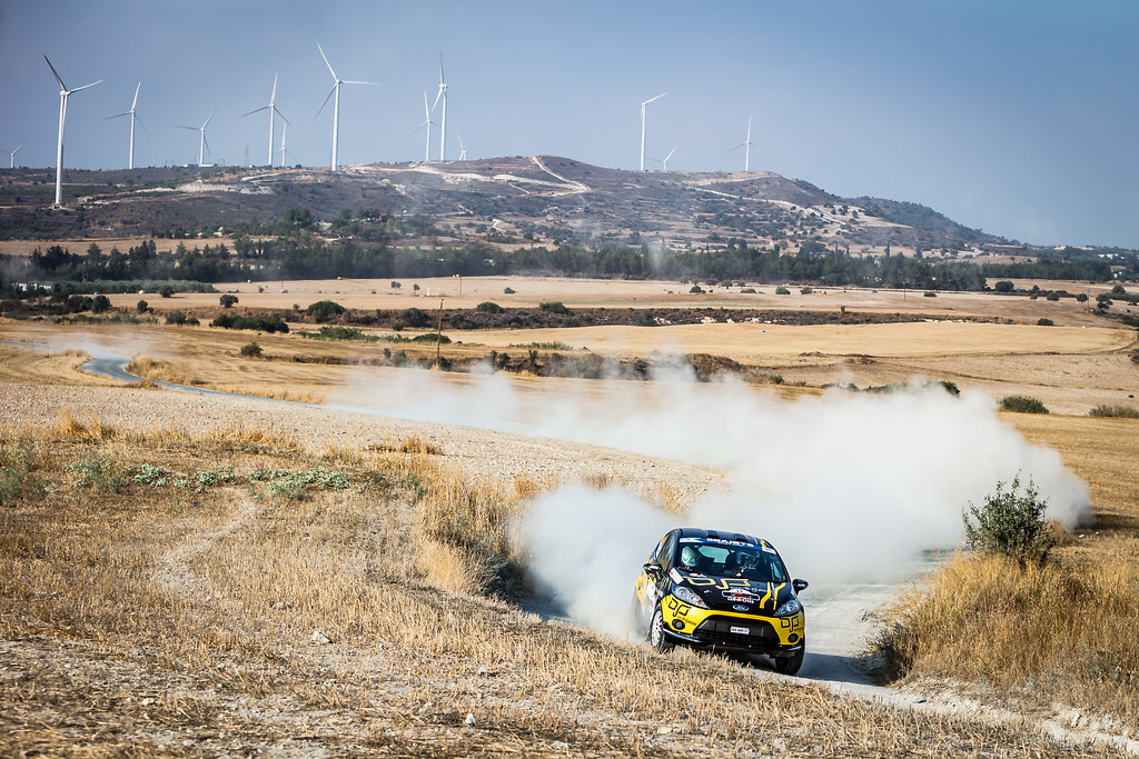 30 TELEVANTOS Constantinos (CYP), STAVROU Takis (CYP), Q8 OILS RALLY TEAM, FORD FIESTA R2, action during the 2018 European Rally Championship ERC Cyprus Rally,  from june 15 to 17 at Larnaca, Cyprus - Photo Thomas Fenetre / DPPI