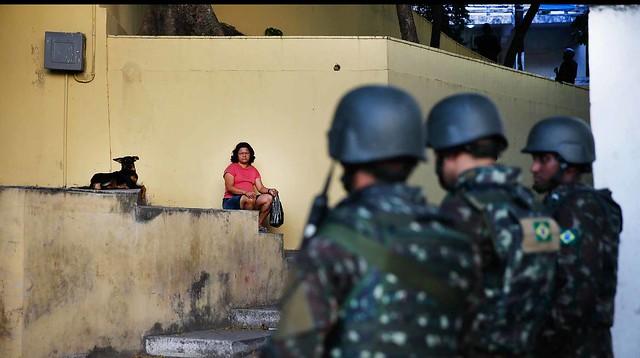 Militares fazem policiamento no Rio de Janeiro - Créditos: Foto: Fernando Frazão/Abr