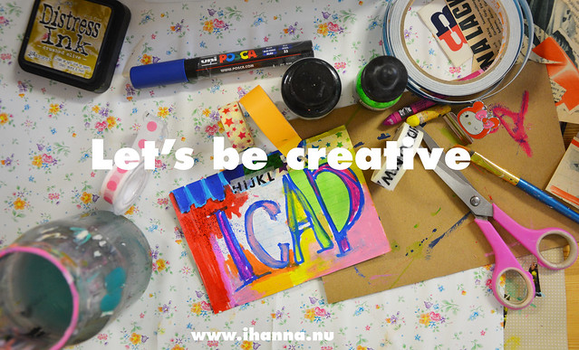 Let's be creative together in June - blog post by iHanna