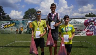 Říha a Klepalová s přehledem vyhráli v Doubravici