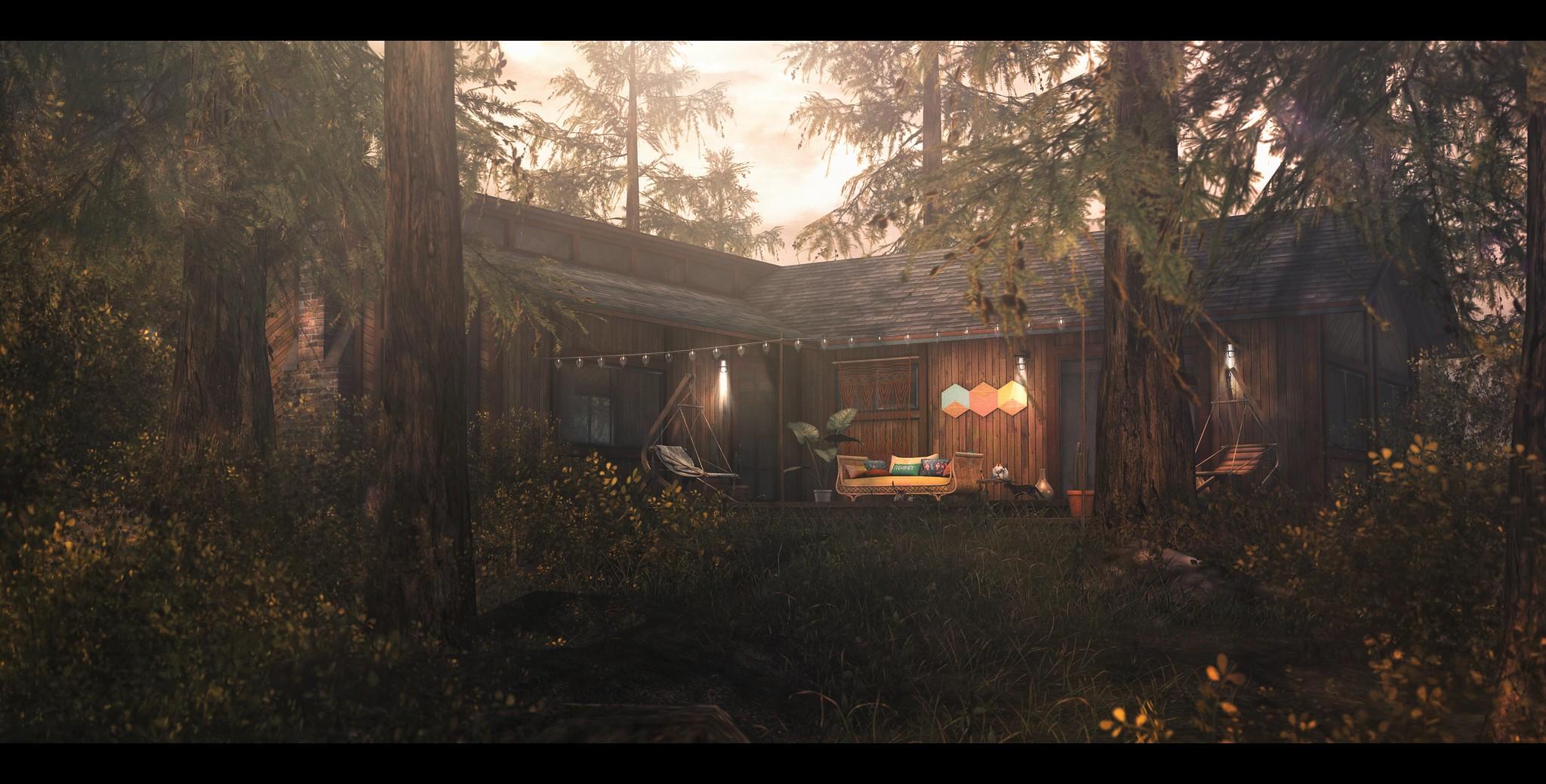 Summer Cabin.
