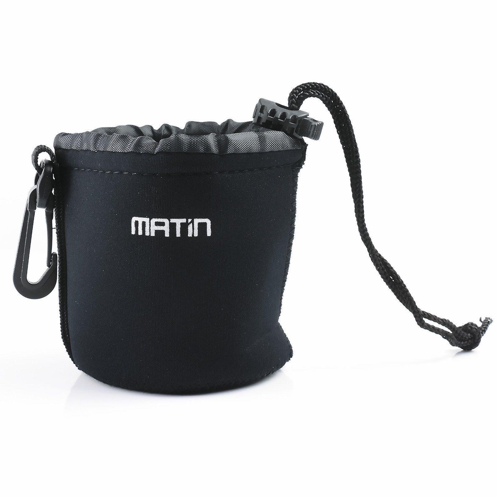01 Túi chống sốc cho ống kính Lens máy ảnh Matin size S_chiều cao tối đa 8cm