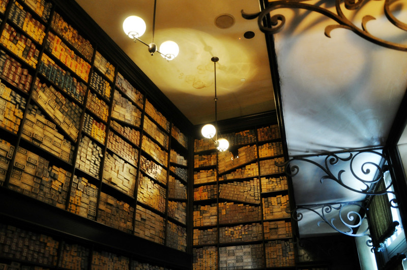 Universal Studios Ollivanders Interior @ Mt. Hope Chronicles