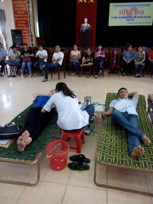 Hiến máu tình nguyện năm 2018 của xã Tam Đại