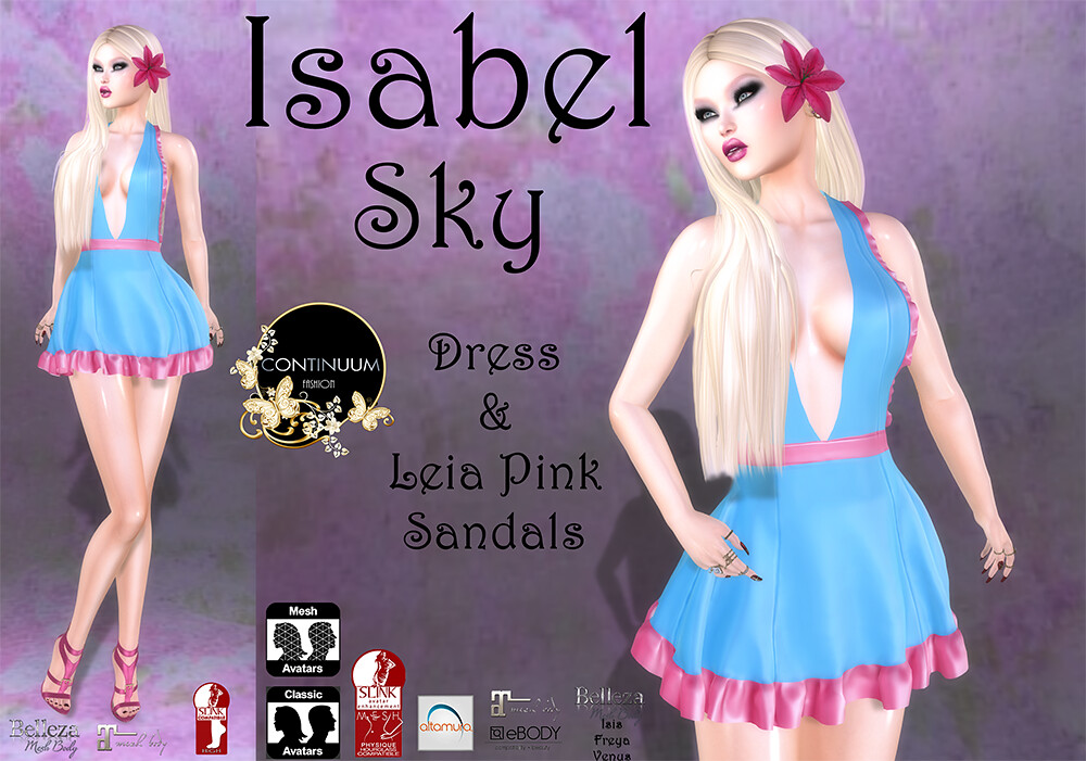 Continuum Isabel Sky @ Event Crazy Fashion