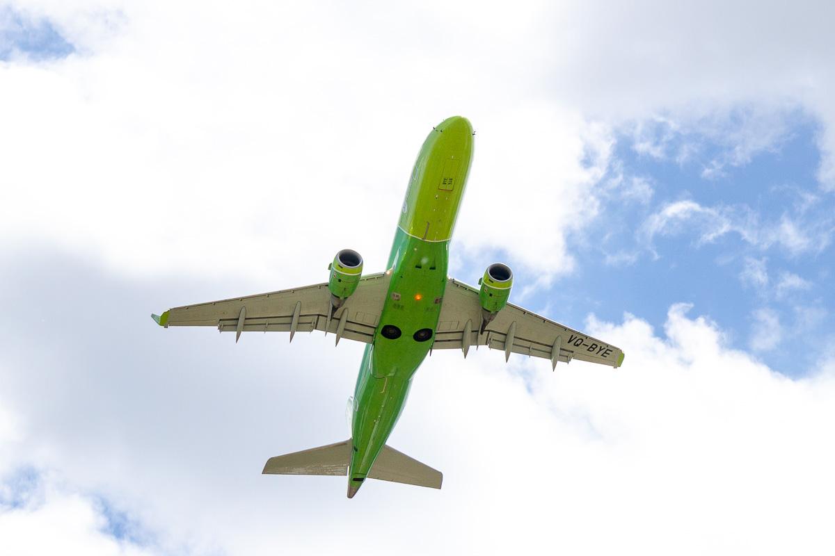 S7 Airlines первый рейс в Саратов фото 15