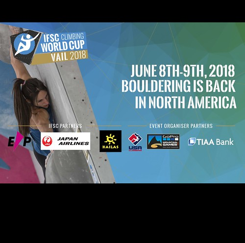 IFSC World Cup Vail 2018
