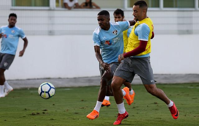 Treino do Fluminense  - 12/06/2018