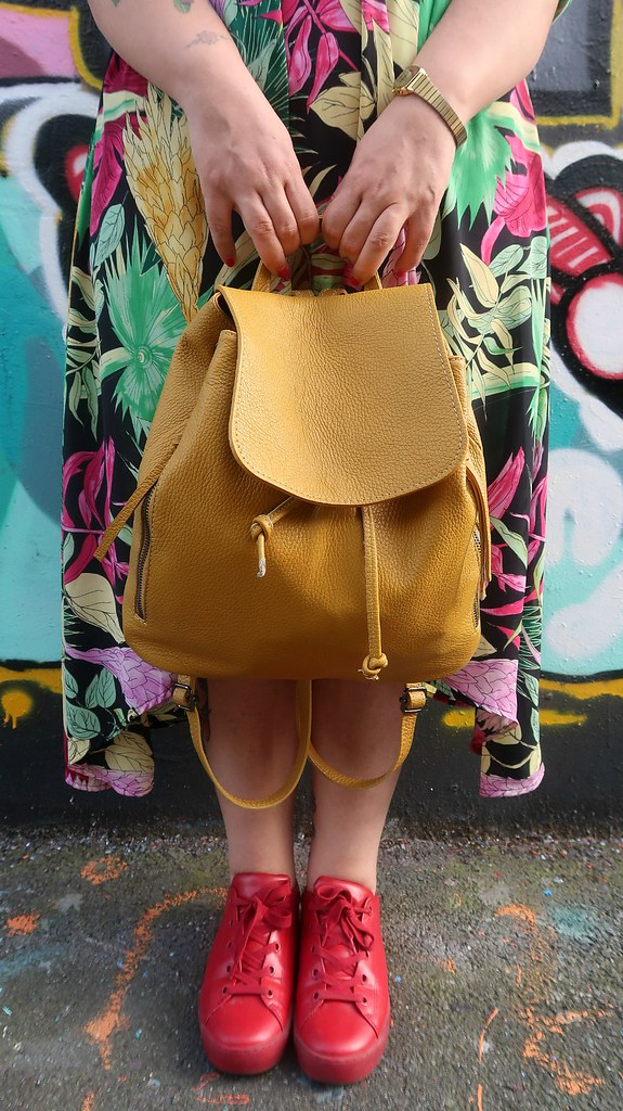 Outfit plus size floreale Monki (9)
