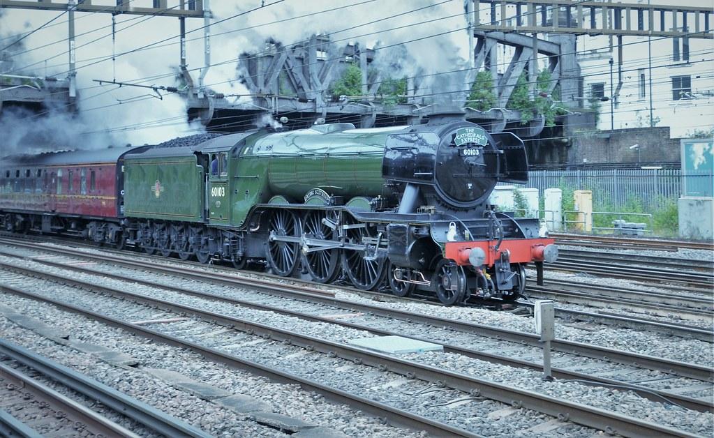A3 Pacific   Flying Scotsman 60103 | Steam Locomotive Flying