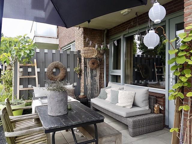 Veranda balkon terras
