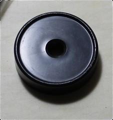 Garrard Record Adaptor Black