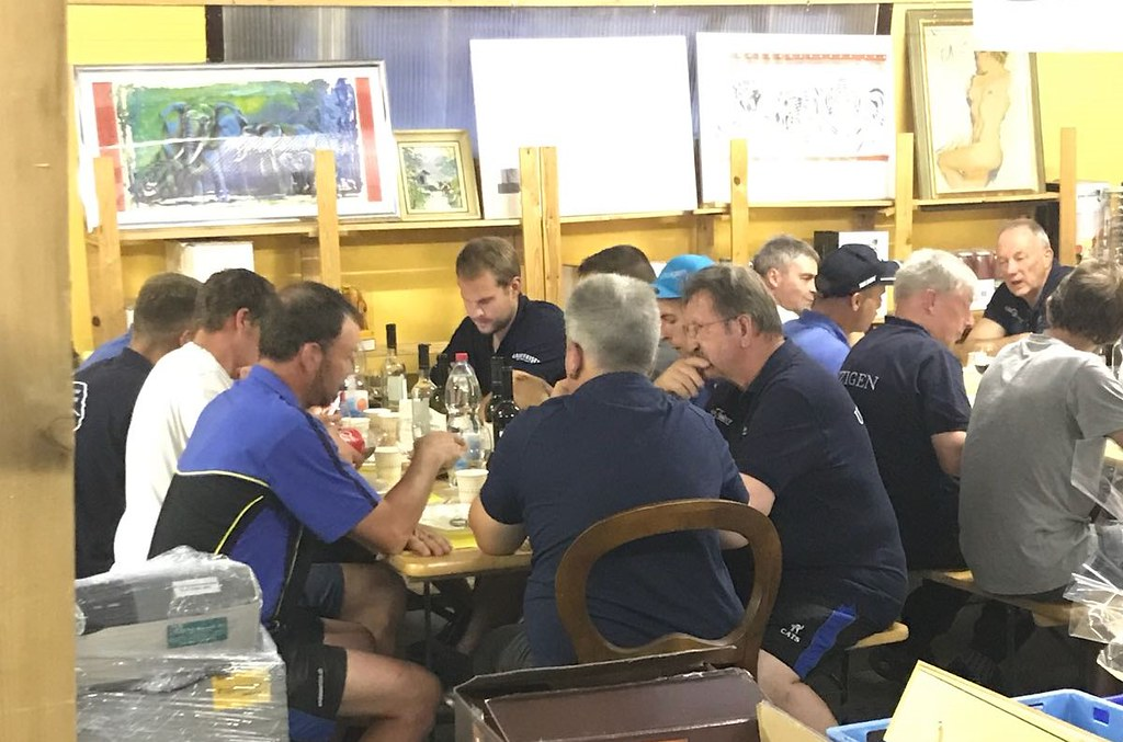 Team-Anlass der B-Mannschaft vom 06.06.2018