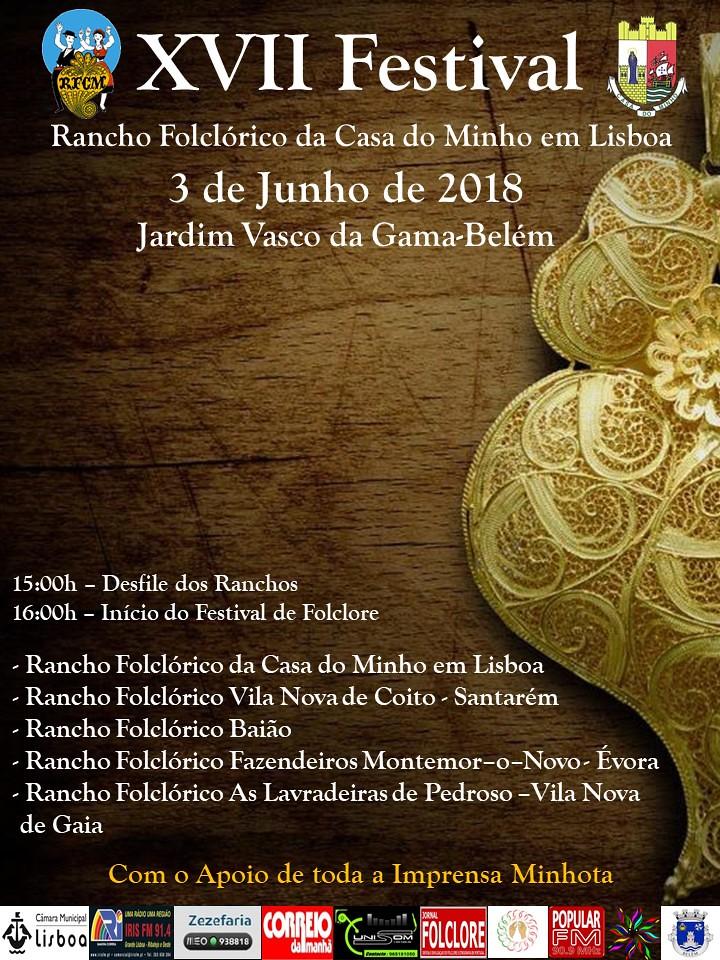 XVII Festival de Folclore RFCM