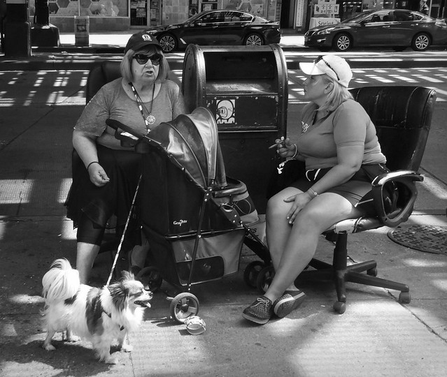 Street Sit Down