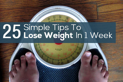 How to Lose 1 KG Weight in 1 Week