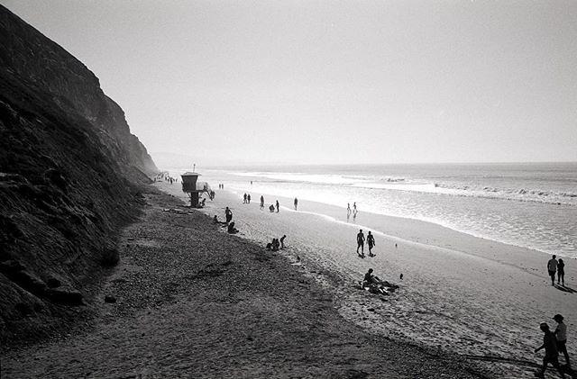 Beach Walkers. #leicamp #leicaimages #summilux50 #ilfordphoto #delta100 #shootfilmbenice #believeinfilm