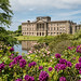 Lyme Hall across the rhododendrons.