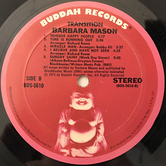 BARBARA MASON:TRANSITION(LABEL SIDE-B)