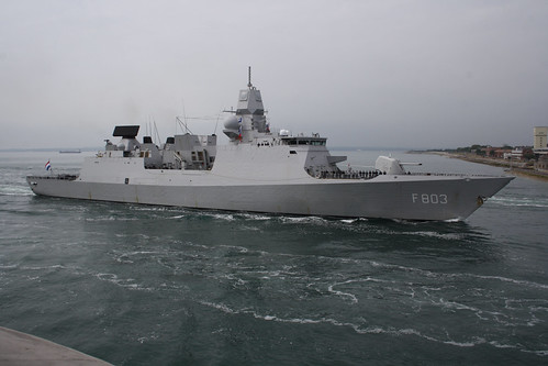HNLMS Tromp F803 Portsmouth