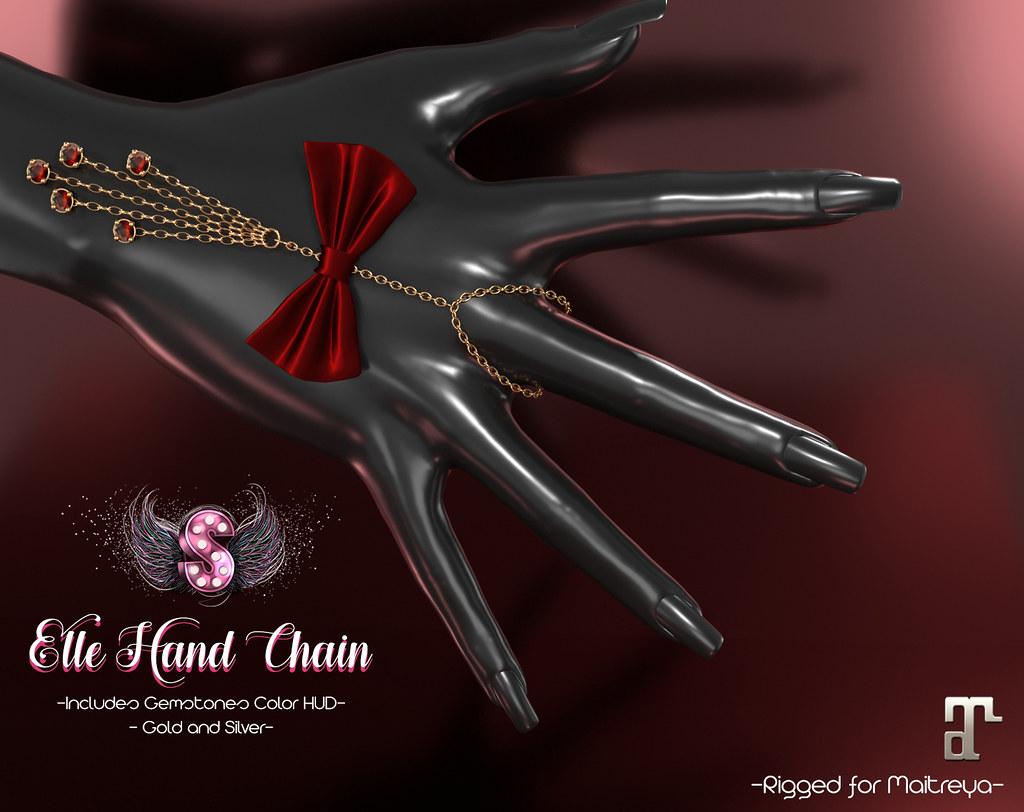 .::Supernatural::. Elle Hand Chain @ Ebento - TeleportHub.com Live!