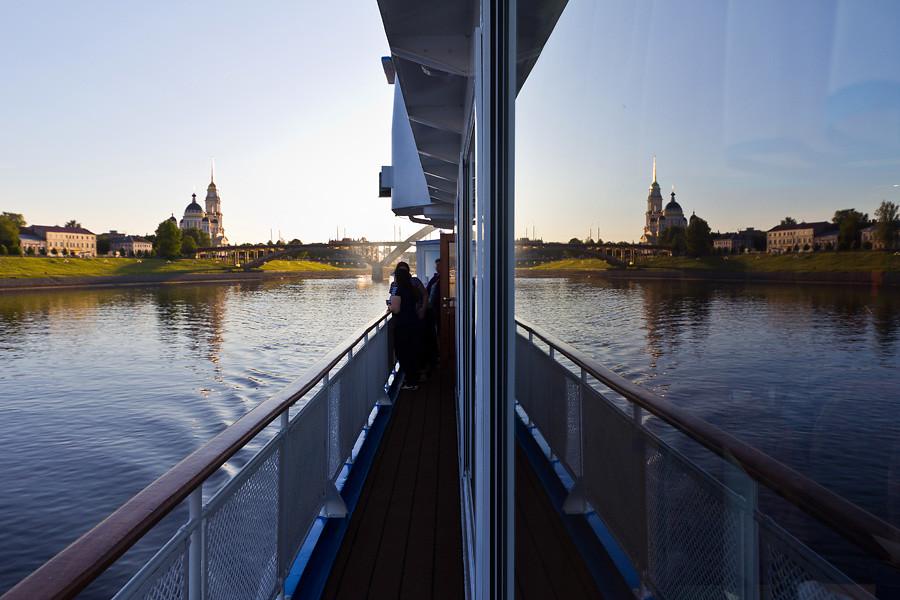 Москва - Казань по воде. День 2. Верхняя Волга