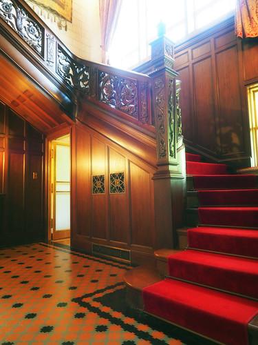 近代建築・旧乾邸玄関ホール