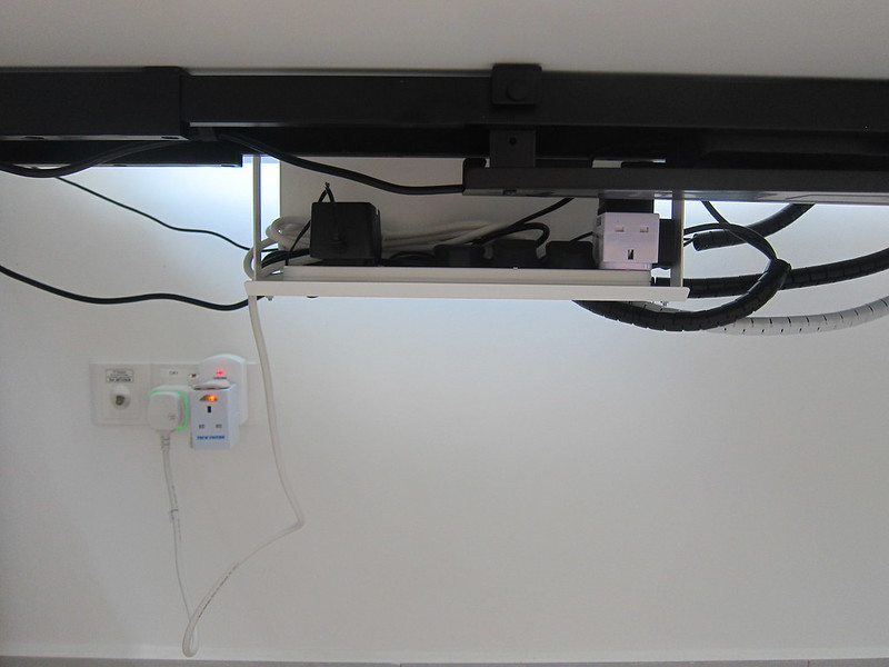 ErgoEdge AmpDesk Standing Desk - Cable Management Tray