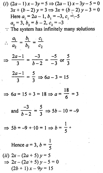 RD Sharma Class 10 Pdf Free Download Full Book Chapter 3 Pair Of Linear Equations In Two Variables